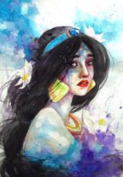 Princess Jasmine by ArielTW