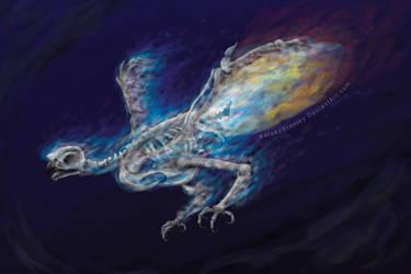 Skeleton Phoenix by KelseyStanley