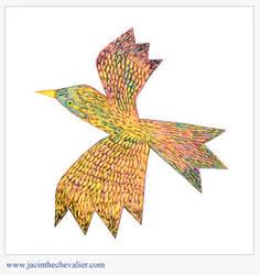 oiseau de carton 1 by Jassou