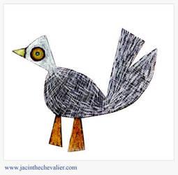 Oiseau carton 2 by Jassou