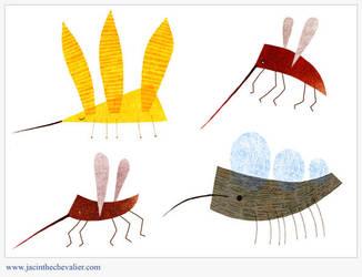 Les moustiques pik pik pow by Jassou