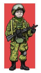 Commission ( Digitaly Coloured) - Gvozdi by slepo1