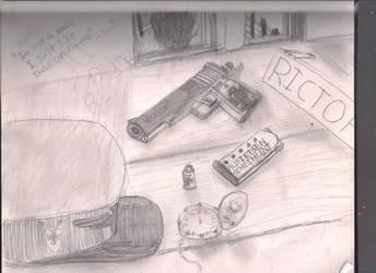 random drawing by Samtaynov