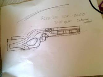 shotgun design by Samtaynov