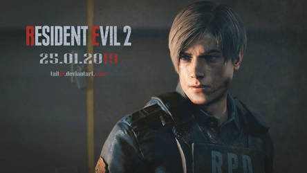 RE2 Remake. The changed Leon's face by Taitiii