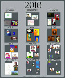 A Year of Arwork - 2010 by spiker275