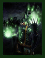 The Shaman of the Grave 2014 by drawnblud