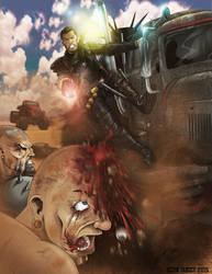 Really Mad Max.... by drawnblud