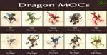 Dragon MOCs (ALL) by Toa-Shifter