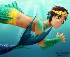 Shingeki no Kyojin  Prince Eren of the Sea by Rhea-LOCKWING