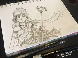 Original  Random Doodle 1 by Rhea-LOCKWING