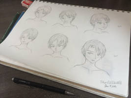 Shingeki no Kyojin  Practice Sketches by Rhea-LOCKWING