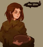 Arya, The Blind Stark by zzzKEO