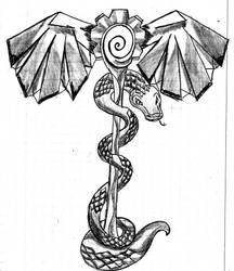 Inktorber - #7 Zodiac by SoulStormHNS