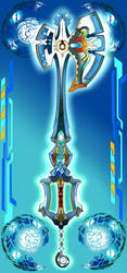 Keyblade - Cry'o-Shell by SoulStormHNS
