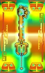 Keyblade - Gaia's Stone by SoulStormHNS