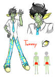 Space School: Twanny by DarkChibiShadow
