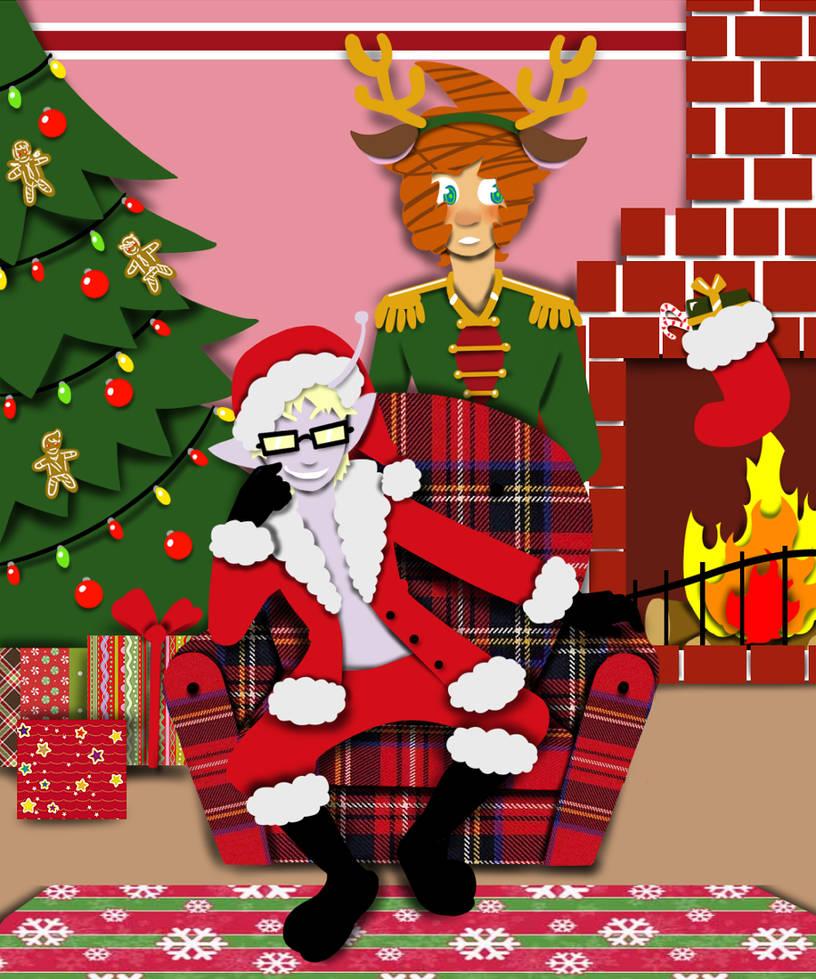 Come sit on Santa's Lap by DarkChibiShadow