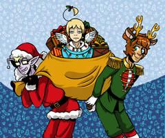 Space School Christmas 2012 by DarkChibiShadow