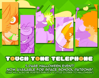 Touch Tone Telephone Comic - Early Access! by DarkChibiShadow