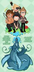 Catching Leviathan by DarkChibiShadow