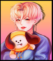 Jimin and chimmy by IciaChan