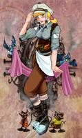 Steampunk Cinderella by luxshine