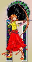 Elin is Sagittarius by luxshine