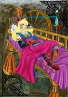 Steampunk Sleeping Beauty by luxshine