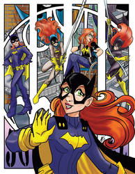 Batgirl through the ages by luxshine