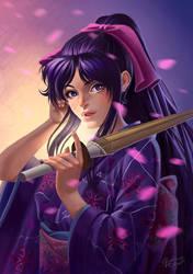 Kaoru Kamiya by CarolMylius