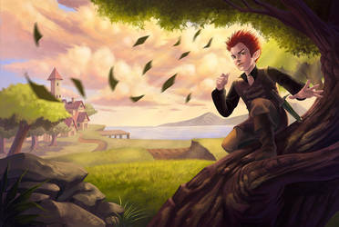 Chronicles of the wind by CarolMylius
