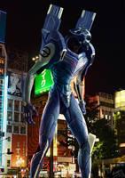Evangelion Unit-00 weta by doneplay