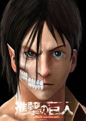 Eren Jaeger Titan by doneplay