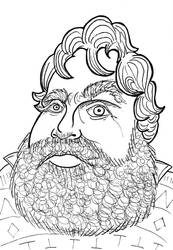 Galifianakis by RevolvingRevolver