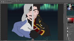 Assassin's Creed Rogue Poster (WIP) Shay by imajanaeshun