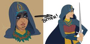 Assassin's Creed Movie Poster WIP - Maria by imajanaeshun