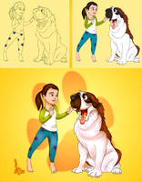 I Like Dogs by imajanaeshun