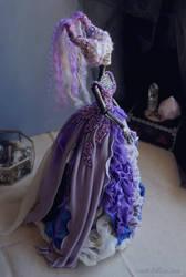 Wisteria II: The Dark Beauty art doll by LellecoShop