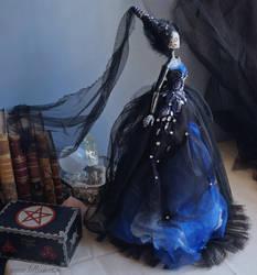 Audra II: The Dark Beauty art doll by LellecoShop