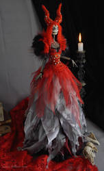 Seraphine: The Dark Beauty art doll by LellecoShop