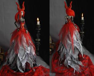 Seraphine II: The Dark Beauty art doll by LellecoShop