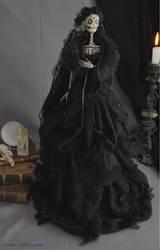 Corvina Winter: Dark Beauty art doll by LellecoShop