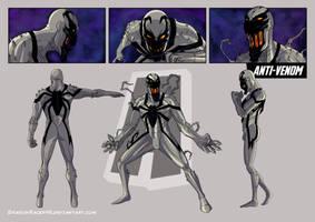 Anti-Venom concept art by DragonRacer45