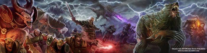 Dragon Age, GM Screen by Mancomb-Seepwood
