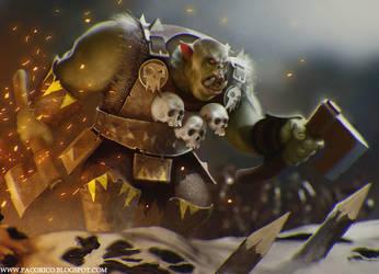 Orcs by Mancomb-Seepwood