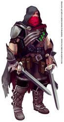 Dragon Age rogue again by Mancomb-Seepwood