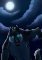 Fury of the moon by UKthewhitewolf