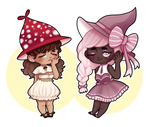 WITCH ADOPTABLES (CLOSED) by setsulko