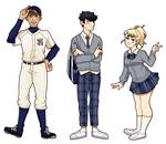 [ OC ] Anime Highschool by setsulko